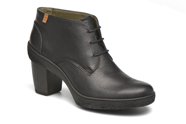 Chaussures à lacets El Naturalista Lichen NF74 Noir vue détail/paire