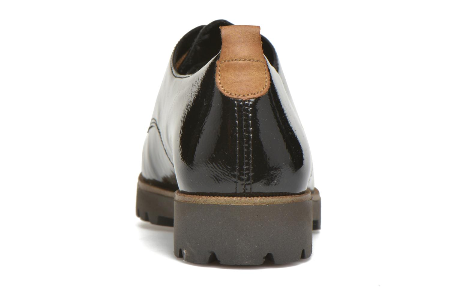 Lace-up shoes Remonte Monique D0102 Black view from the right
