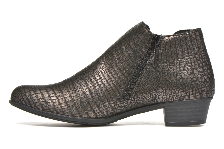 Stiefeletten & Boots Remonte Miryam D3570 gold/bronze ansicht von vorne