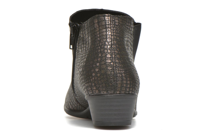 Stiefeletten & Boots Remonte Miryam D3570 gold/bronze ansicht von rechts