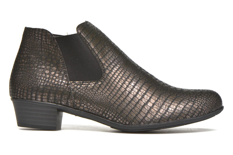 Stiefeletten & Boots Remonte Miryam D3570 gold/bronze ansicht von hinten