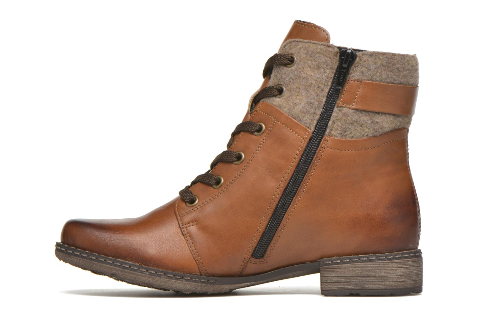 Ankle boots Remonte Alexandra D4379 Brown front view