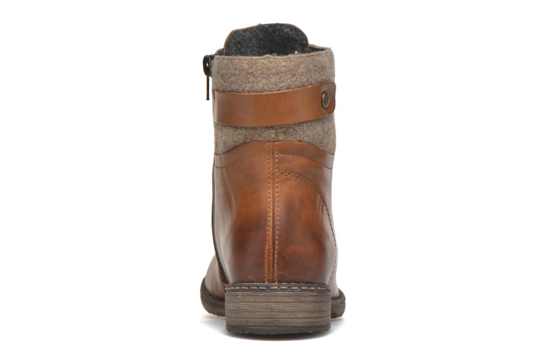 Bottines et boots Remonte Alexandra D4379 Marron vue droite