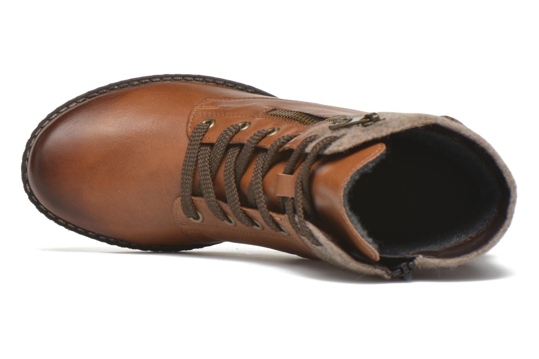 Bottines et boots Remonte Alexandra D4379 Marron vue gauche
