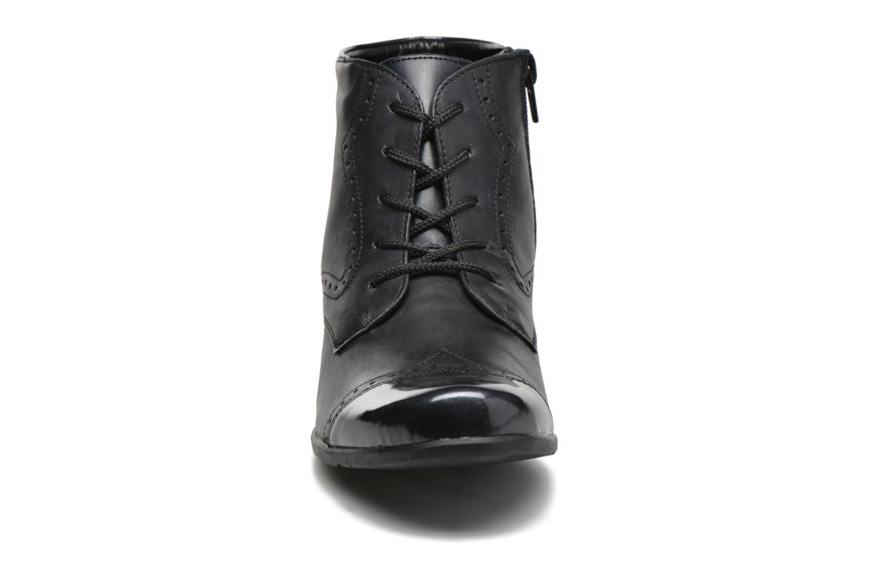 Bottines et boots Remonte Oriane R9170 Bleu vue portées chaussures