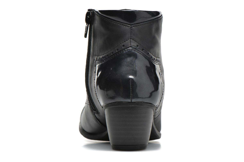 Bottines et boots Remonte Oriane R9170 Bleu vue droite