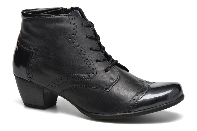 Bottines et boots Remonte Oriane R9170 Bleu vue détail/paire