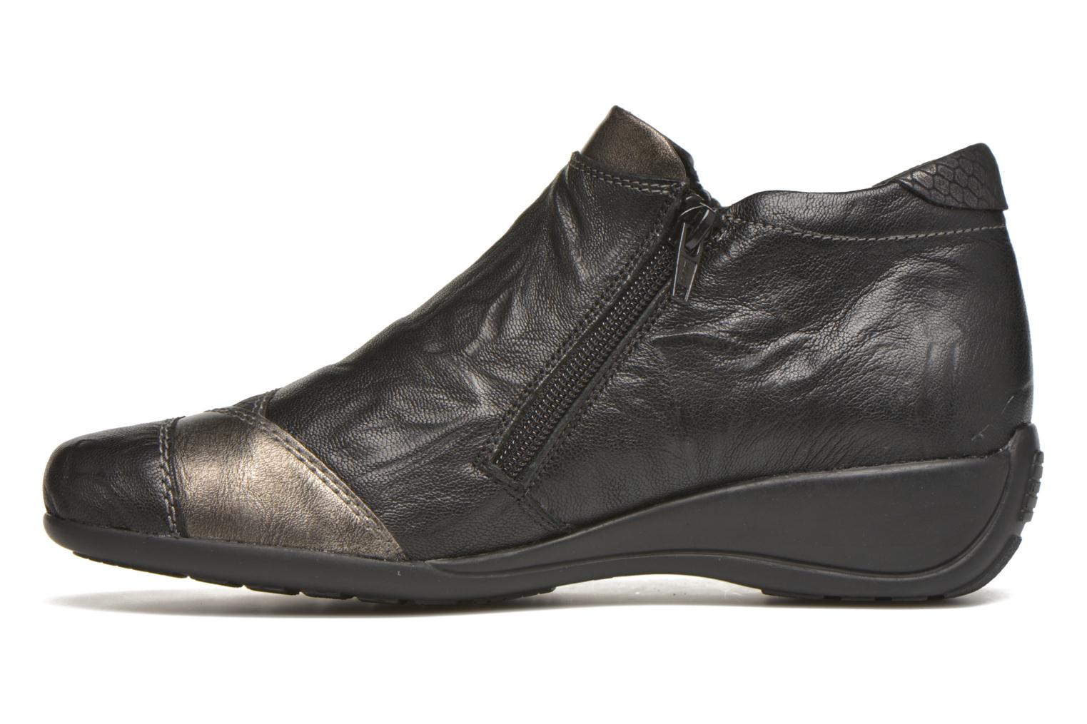Ankle boots Remonte Laure R9883 Black front view