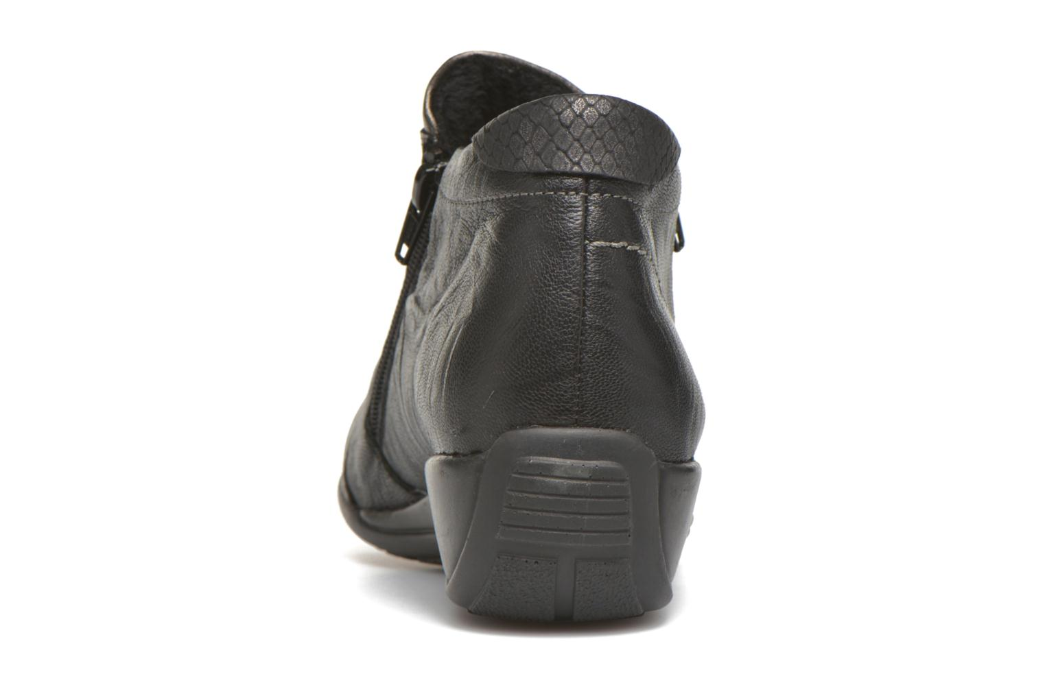 Ankle boots Remonte Laure R9883 Black view from the right