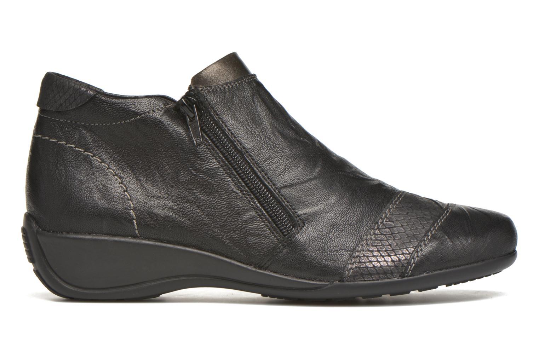 Boots en enkellaarsjes Remonte Laure R9883 Zwart achterkant