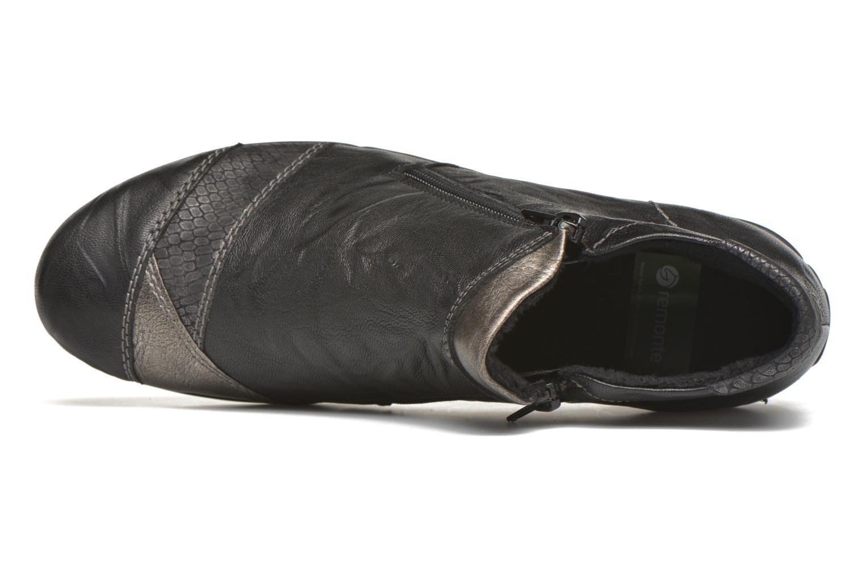 Boots en enkellaarsjes Remonte Laure R9883 Zwart links