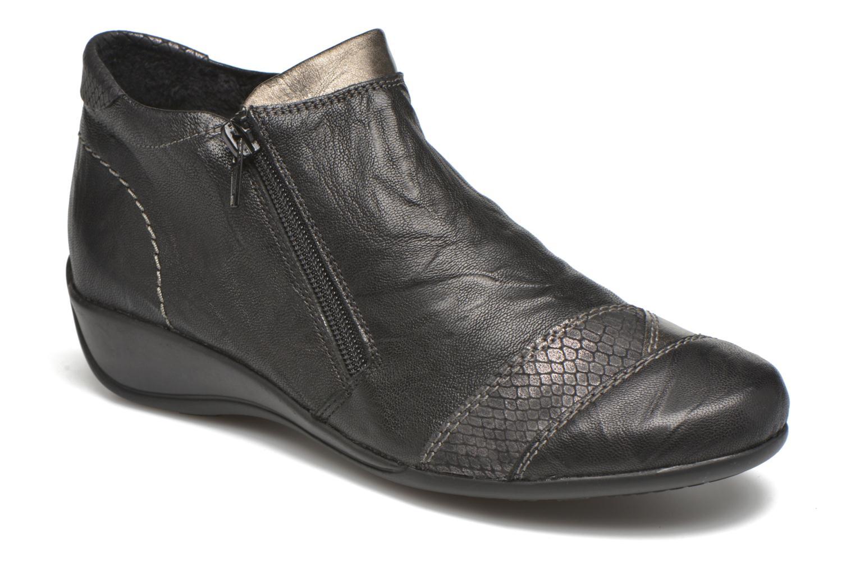 Boots en enkellaarsjes Remonte Laure R9883 Zwart detail
