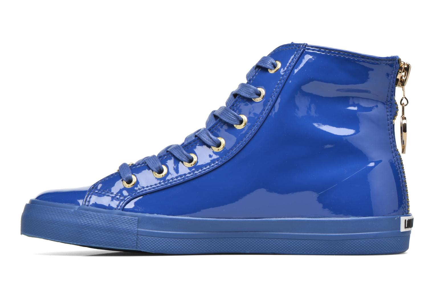 Trainers Love Moschino Ocean Blue front view