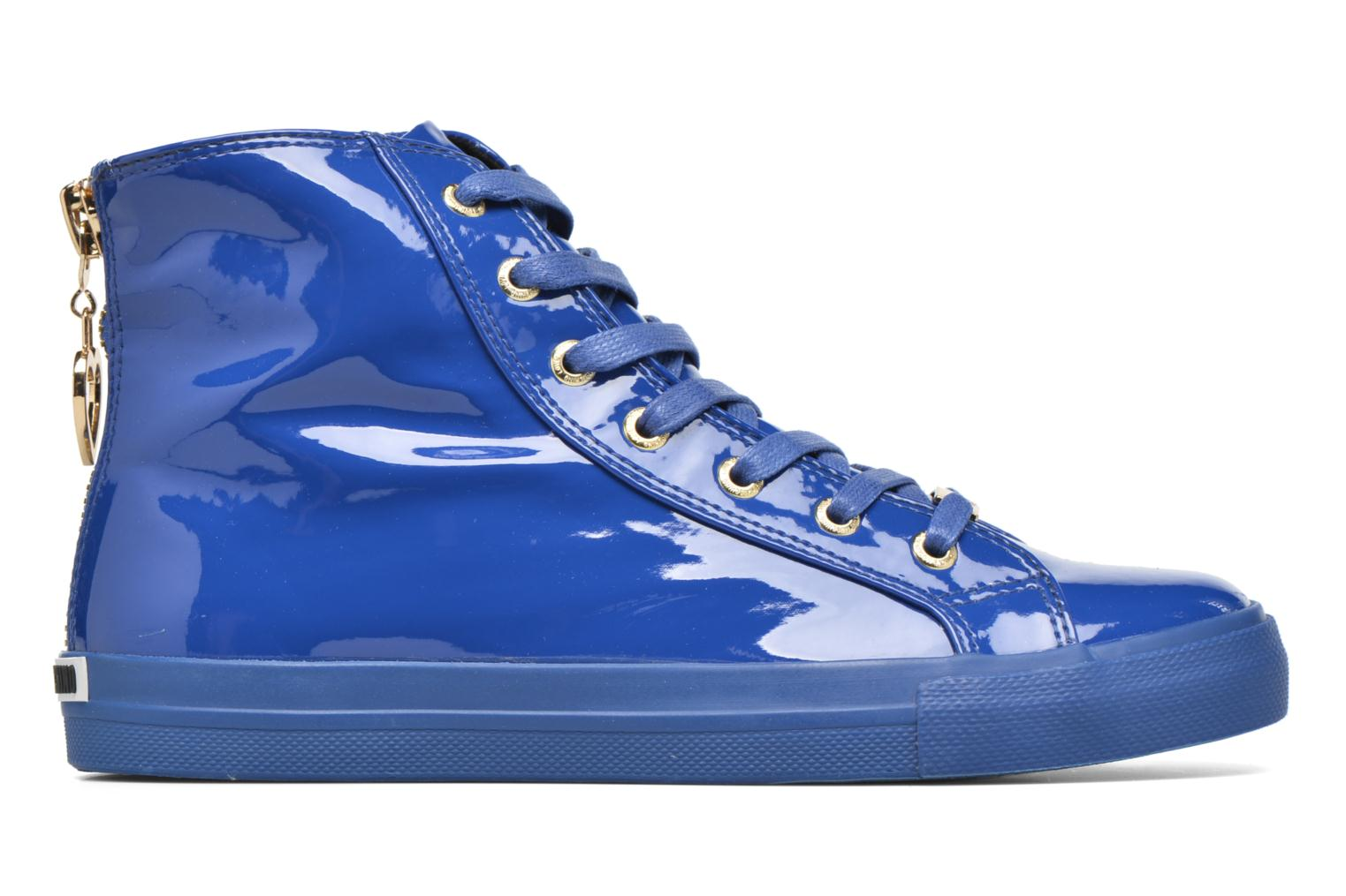 Trainers Love Moschino Ocean Blue back view