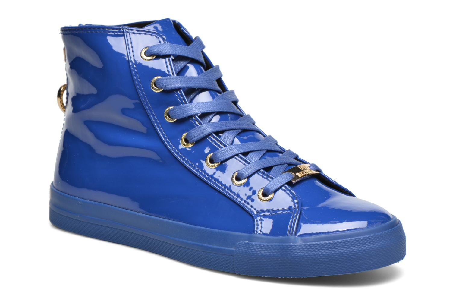 Trainers Love Moschino Ocean Blue detailed view/ Pair view
