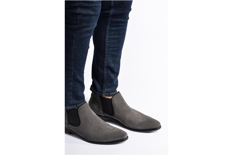 Bottines et boots Mr SARENZA Toddown Gris vue bas / vue portée sac