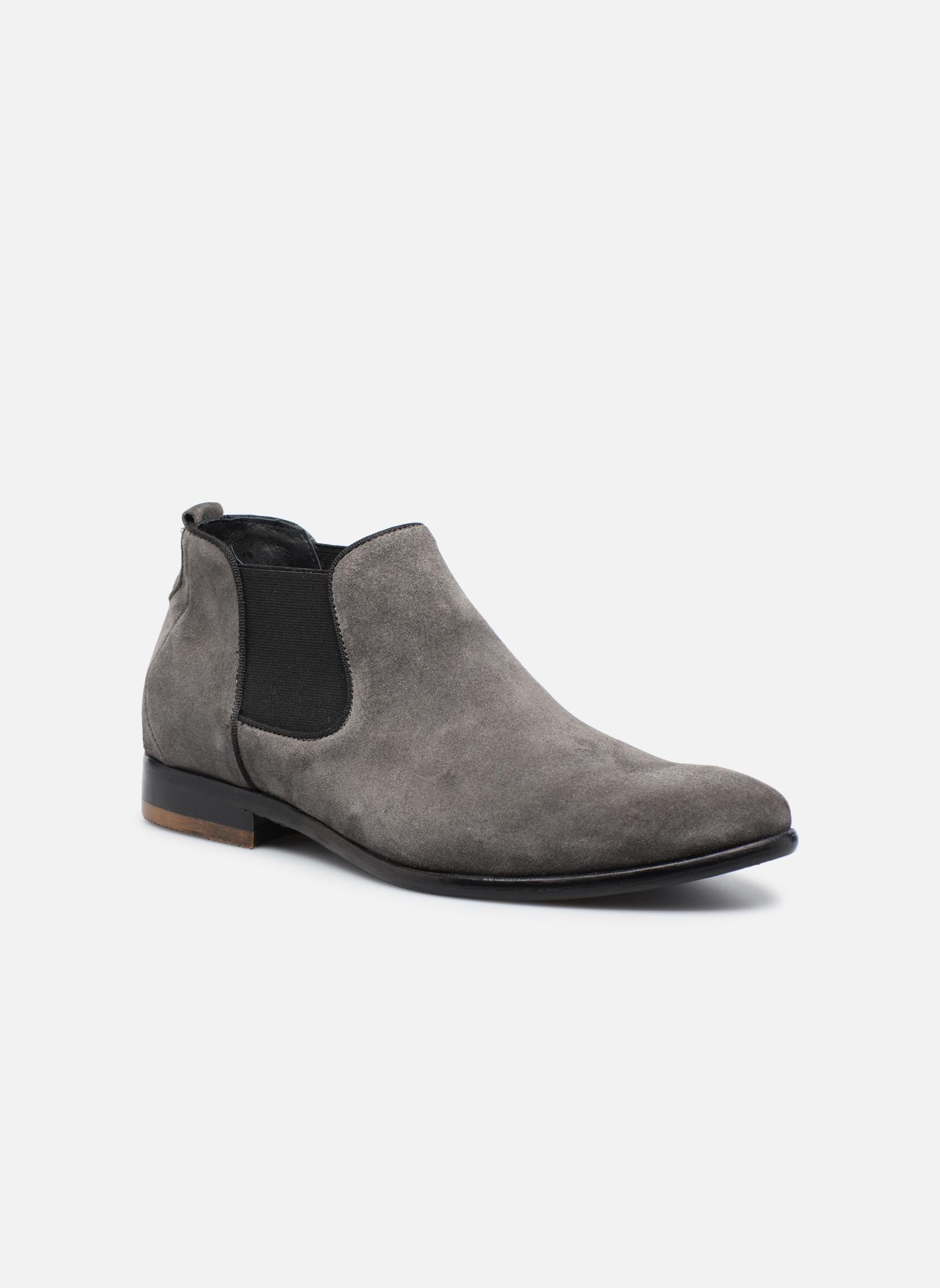 Bottines et boots Mr SARENZA Toddown Gris vue droite