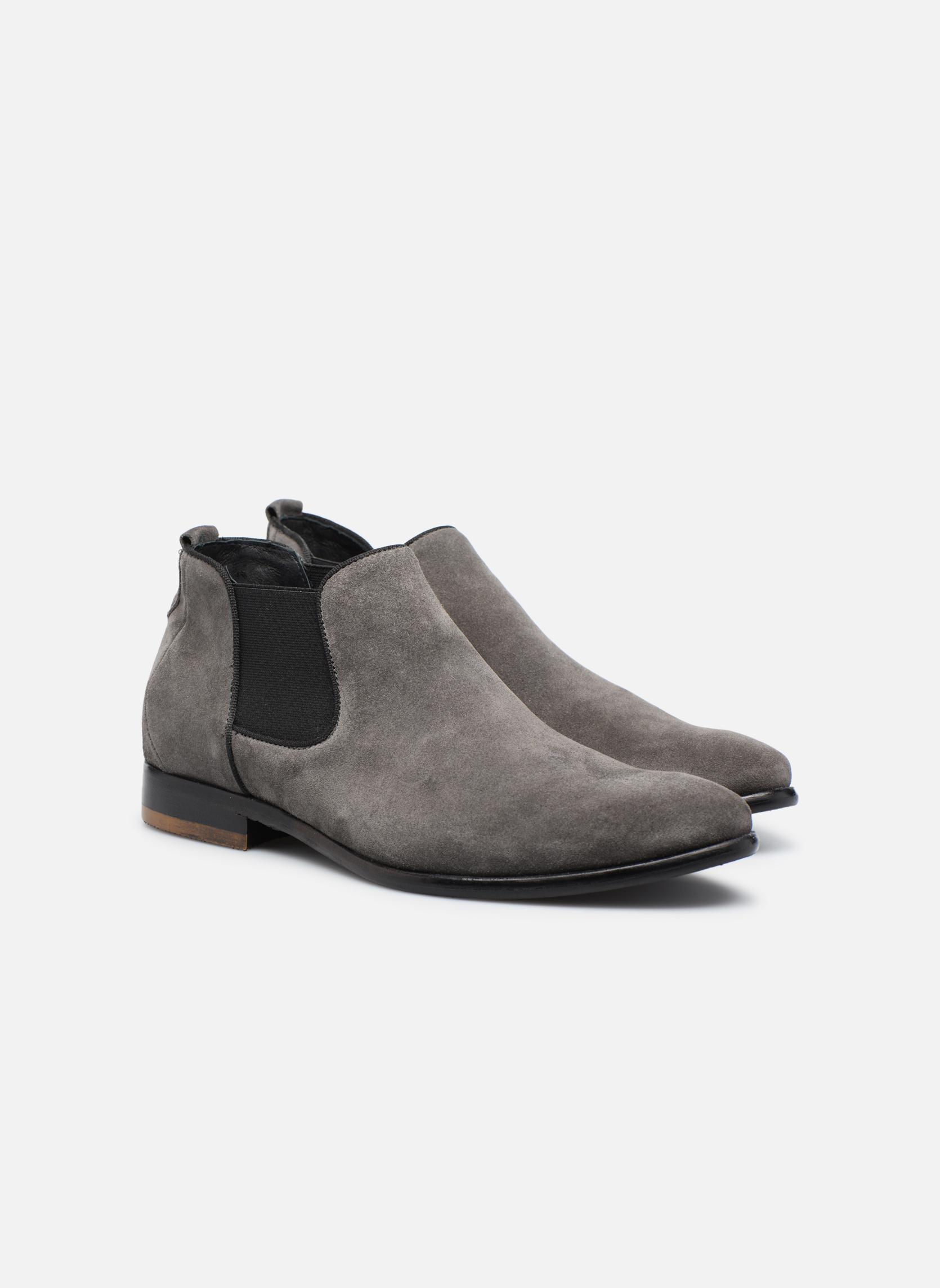 Bottines et boots Mr SARENZA Toddown Gris vue derrière