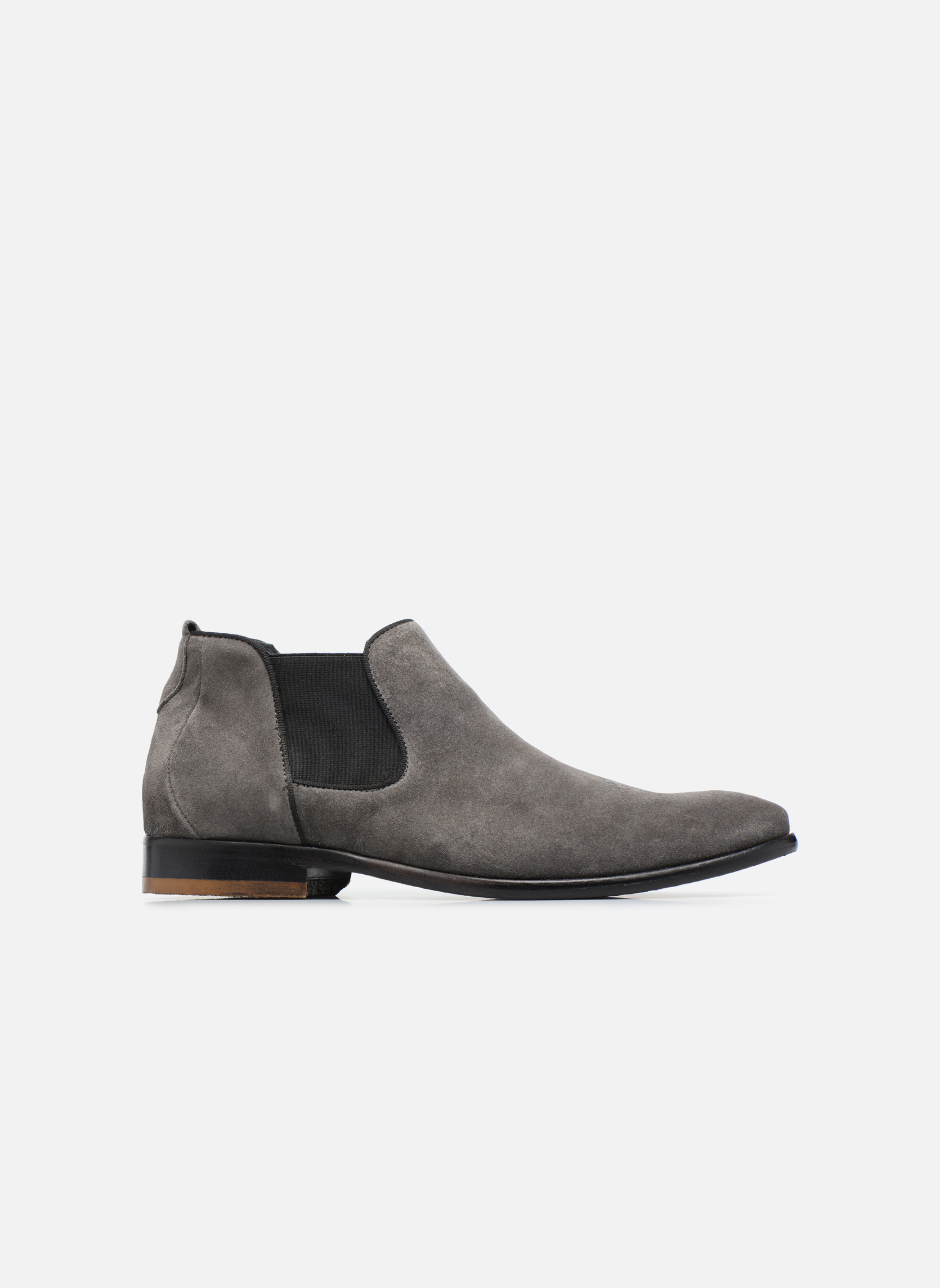 Mr SARENZA Toddown (Gris) - Bottines et boots chez Sarenza (293851)