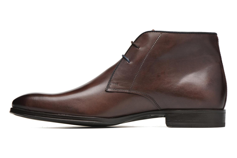Chaussures à lacets Marvin&Co Torbay Marron vue face