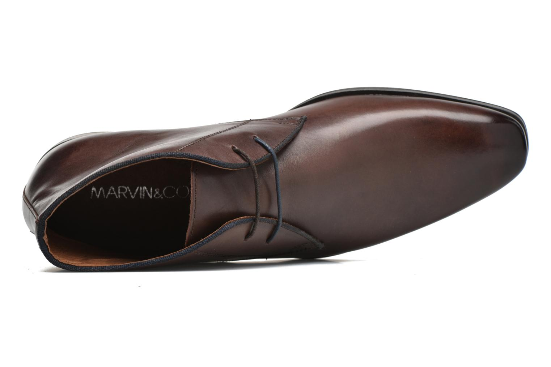Chaussures à lacets Marvin&Co Torbay Marron vue gauche