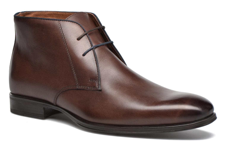 Chaussures à lacets Marvin&Co Torbay Marron vue détail/paire