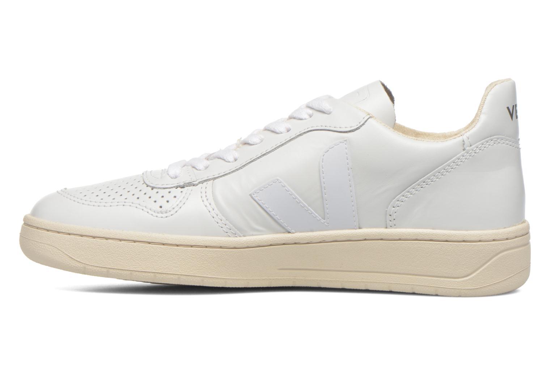 Sneaker Veja V-10 W weiß ansicht von vorne