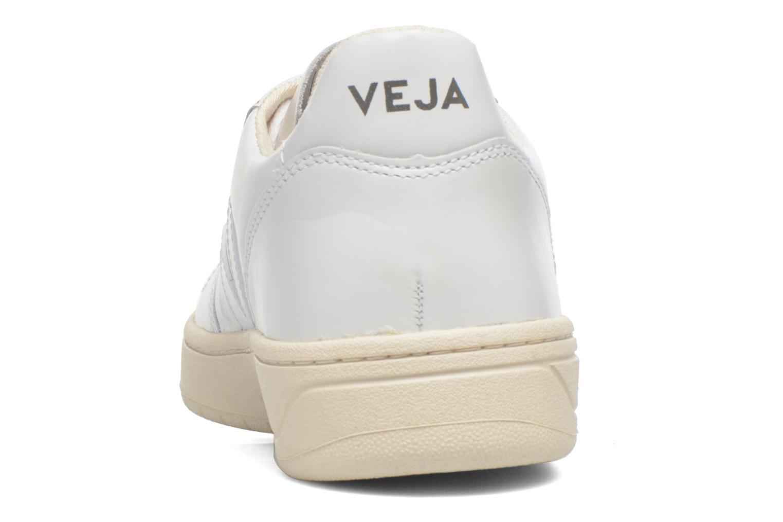 Sneaker Veja V-10 W weiß ansicht von rechts