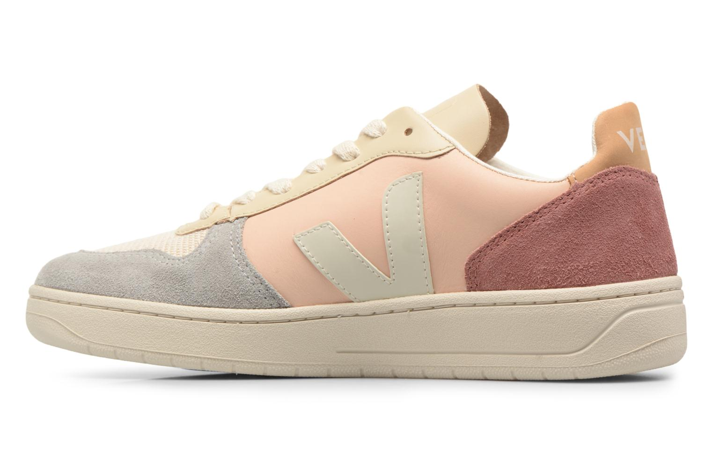 Sneakers Veja V-10 W Beige voorkant