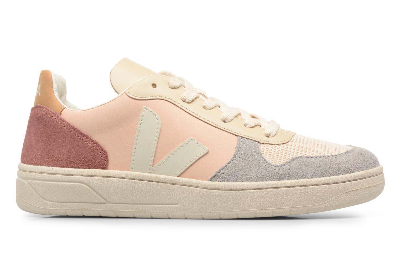 Sneakers Veja V-10 W Beige achterkant