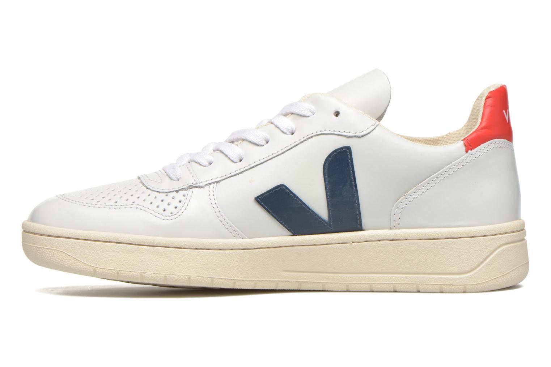 Baskets Veja V-10 Blanc vue face