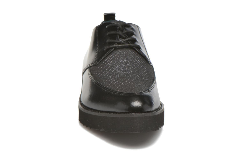 Chaussures à lacets Karston ORON *Mul Vo Box Kid NOIR ~Doubl & 1ere CUIR Noir vue portées chaussures