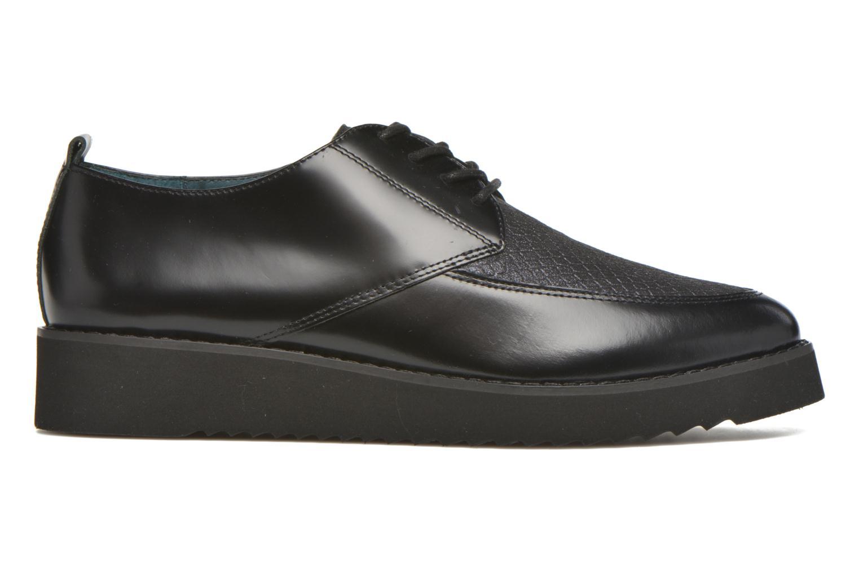 Chaussures à lacets Karston ORON *Mul Vo Box Kid NOIR ~Doubl & 1ere CUIR Noir vue derrière