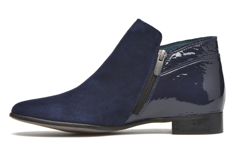 Bottines et boots Karston JOTINI #Multi Ch Vel OCEAN ~Doubl & 1ere CUIR Bleu vue face