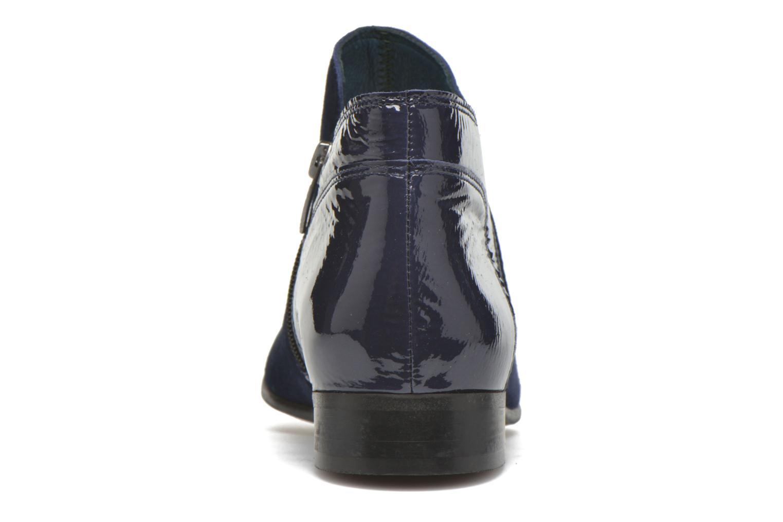 Bottines et boots Karston JOTINI #Multi Ch Vel OCEAN ~Doubl & 1ere CUIR Bleu vue droite