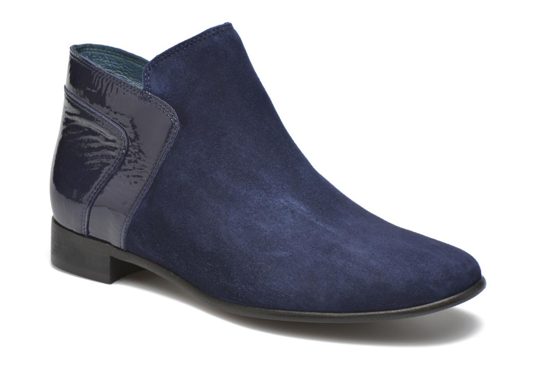 Bottines et boots Karston JOTINI #Multi Ch Vel OCEAN ~Doubl & 1ere CUIR Bleu vue détail/paire