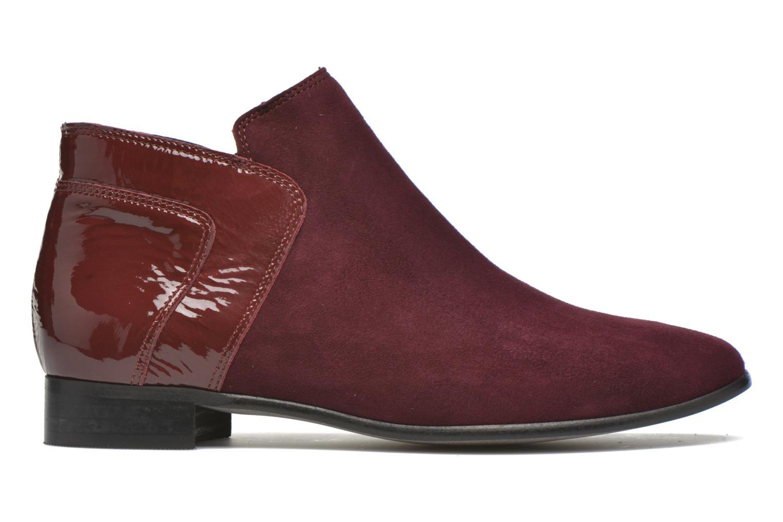Bottines et boots Karston JOTINI *Multi Ch Vel PRUNE ~Doubl & 1ere CUIR Bordeaux vue derrière