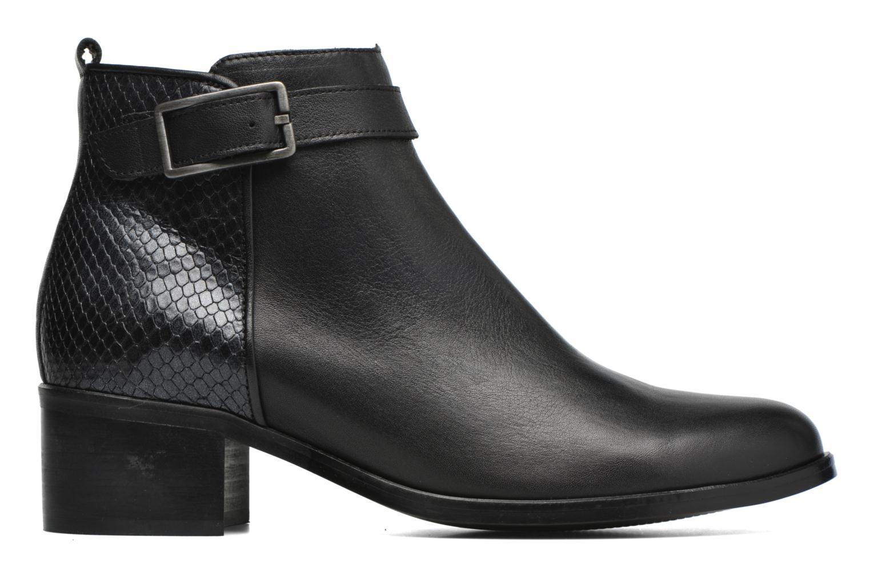Ankle boots Karston GLELIN #Mult Vo Milled NOIR ~Doubl & 1ere CUIR Black back view