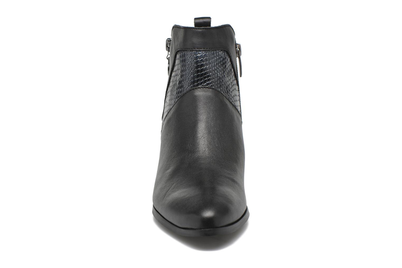 Stiefeletten & Boots Karston HECHIX #Mult Vo Milled NOIR ~Doubl & 1ere CUIR schwarz schuhe getragen
