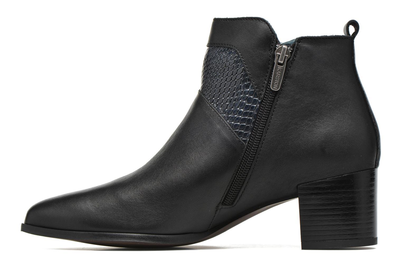 Stiefeletten & Boots Karston HECHIX #Mult Vo Milled NOIR ~Doubl & 1ere CUIR schwarz ansicht von vorne