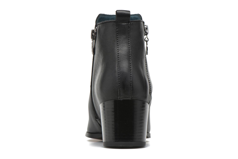 Bottines et boots Karston HECHIX #Mult Vo Milled NOIR ~Doubl & 1ere CUIR Noir vue droite