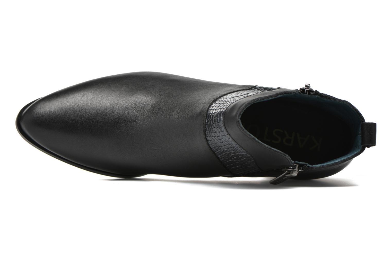 Stiefeletten & Boots Karston HECHIX #Mult Vo Milled NOIR ~Doubl & 1ere CUIR schwarz ansicht von links