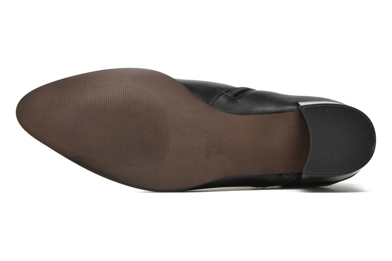 Stiefeletten & Boots Karston HECHIX #Mult Vo Milled NOIR ~Doubl & 1ere CUIR schwarz ansicht von oben