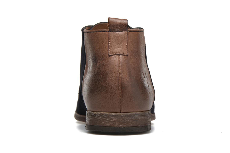 Chaussures à lacets Kost Zepi76 Bleu vue droite