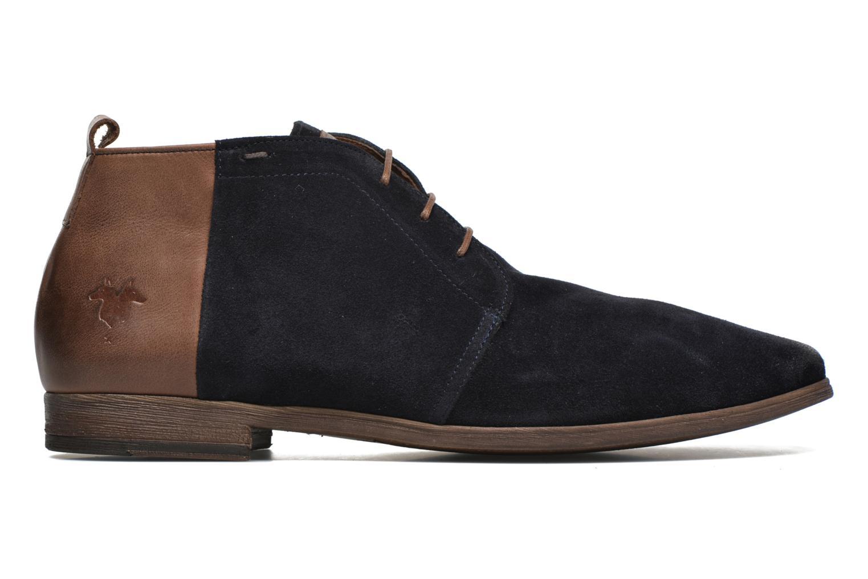 Zapatos con cordones Kost Zepi76 Azul vistra trasera