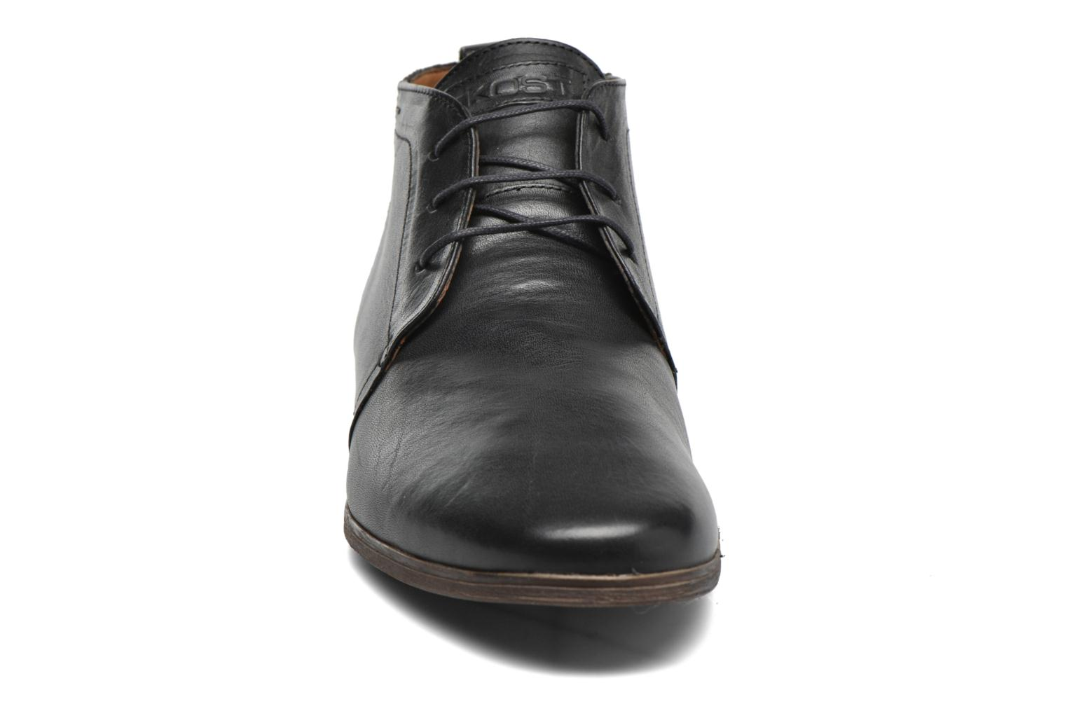 Lace-up shoes Kost Zepee21 Black model view