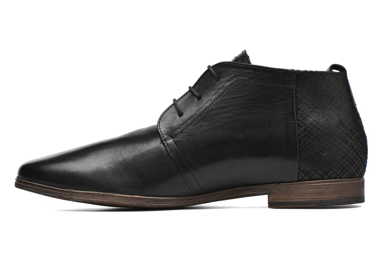 Zapatos con cordones Kost Zepee21 Negro vista de frente