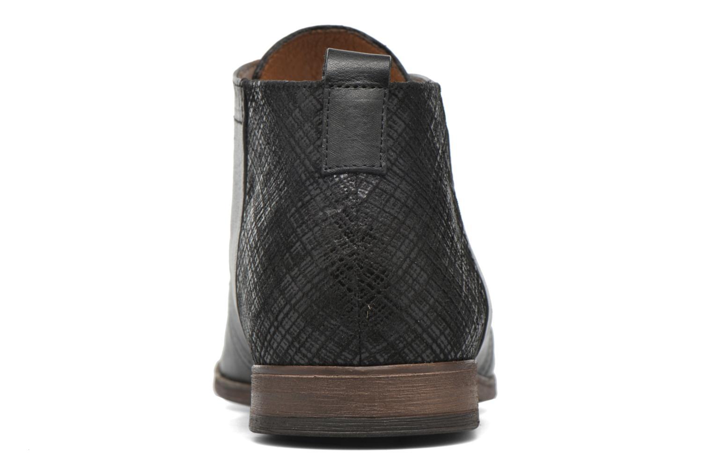 Zapatos con cordones Kost Zepee21 Negro vista lateral derecha