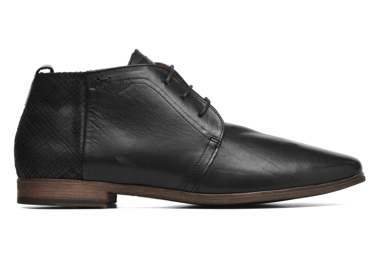 Zapatos con cordones Kost Zepee21 Negro vistra trasera