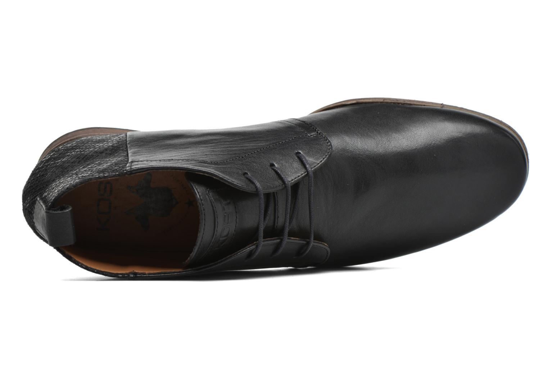 Zapatos con cordones Kost Zepee21 Negro vista lateral izquierda